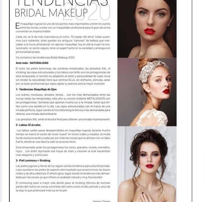 BRIDAL MAKEUP 2020- &MAGAZINE NOVIAS
